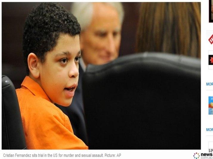 O caso de Cristian Fernandez tem causado polêmica nos Estados Unidos, pois o jovem de 13 anos está sendo julgado como adulto por ter matado por espancamento seu meio-irmão de dois anos, além de ter estuprado um outro meio-irmão, de cinco. Como explicar que uma criança de 12 anos tenha feito isso?