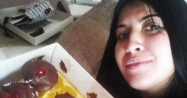 """Grávida, Priscila Pires recebe caixa de doces: """" Aproveitando cada ..."""