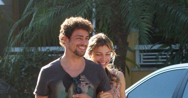 Cauã e Grazi aumentam rumores de volta e Bruna Marquezine ...