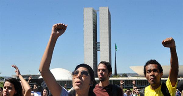Manifestações agradam a 84% dos brasileiros, diz pesquisa Ibope ...