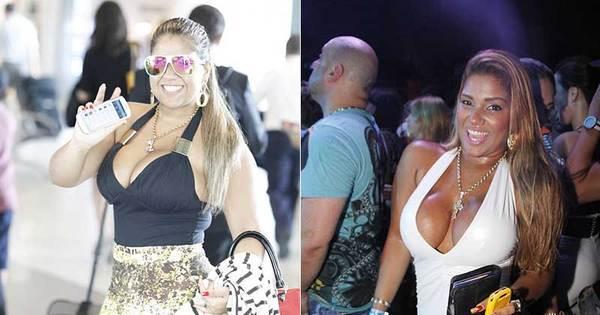 """Mãe revela dieta que fez Mulher Filé secar 15 kg: """"Ela teve que ..."""