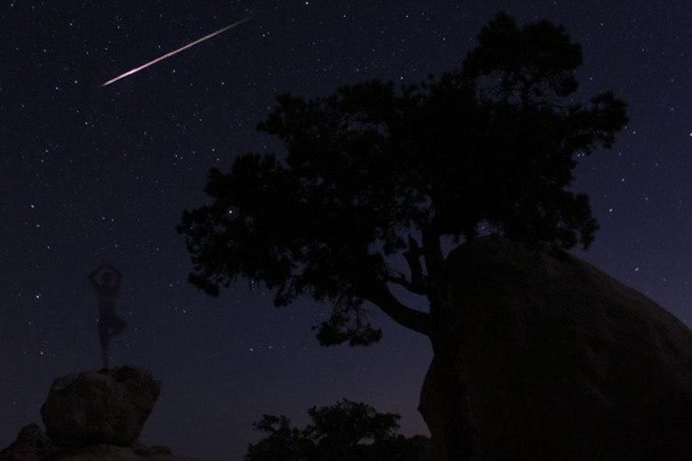 A atividade de meteoros é sempre mais forte na metade do ano