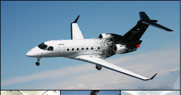 Embraer vende aviões acima de R$ 100 milhões em feira para ricaços