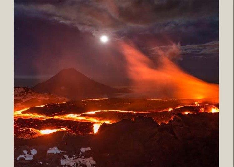 10º lugar – Erupções vulcânicas (7%)