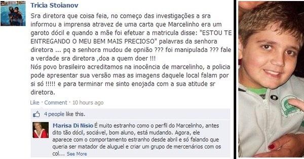 Família morta: diretora da escola onde Marcelo estudava é ...