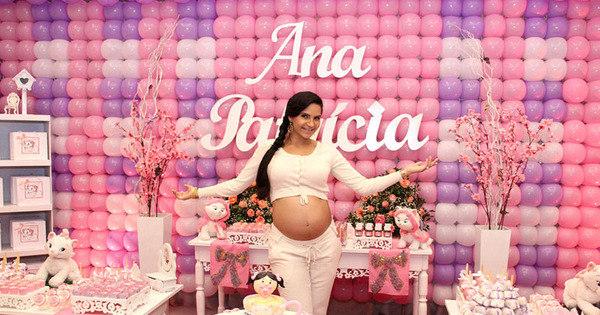 Nasce primeira filha de Shayene Cesário - Entretenimento - R7 ...