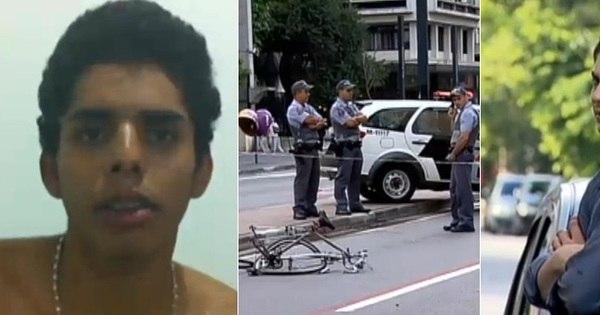 Motorista que atropelou e arrancou braço de ciclista na Paulista vai ...