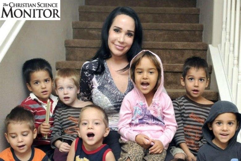 O site americano Inquisitr divulgou uma matéria explicando passo a passo como Nadya Suleman, a Octomãe, usou seus filhos para arrancar dinheiro do governo dos Estados Unidos