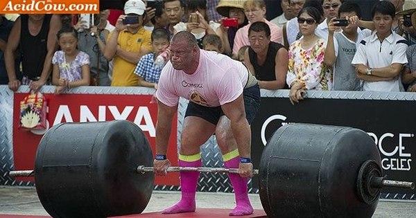 Homem mais forte do mundo levanta 509 kg e bate recorde - Fotos ...