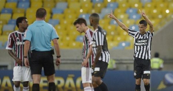 Santos bate o Fluminense no Rio com 'DNA' tricolor - Esportes - R7 ...