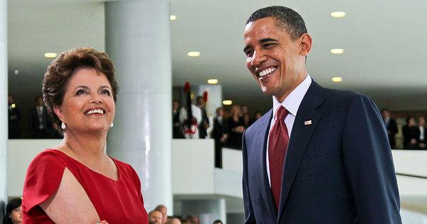 Piada na web: internautas veem ' paixão' de Obama por Dilma e ...