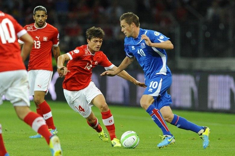 A Suíça, um seleção com resultados não muito expressivos na história do futebol, aparece em oitavo lugar