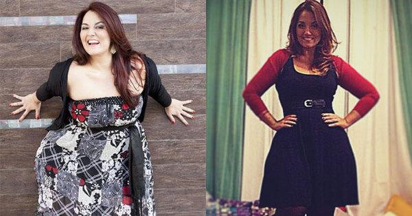Já foram 60 kg! Ex-gordinha, Renata Celidônio ainda quer ...