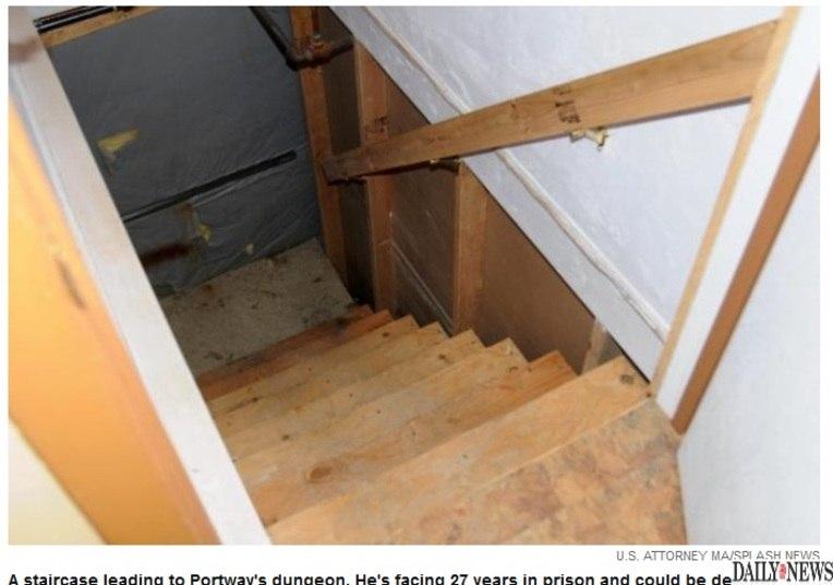 Portway passou meses conversando com pessoas pela internet sobre um  'interesse em sequestrar, estuprar, matar e comer crianças', revelando  inclusive detalhes específicos, como o de cometer o crime no subterrâneo  da sua casa