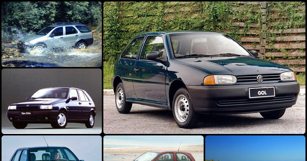 veja os carros que marcaram os anos 90