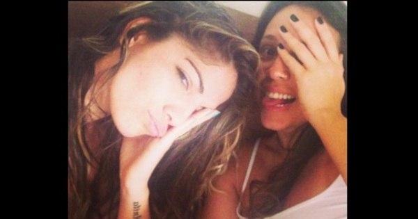 """Anamara publica foto ao lado de Angelis Borges: """"Coisa chata ..."""