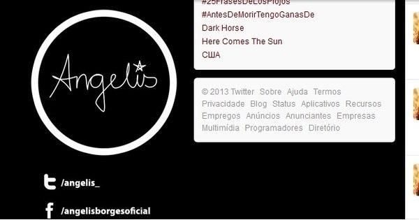 Angelis Borges xinga muito no Twitter após ex-namorada dar ...