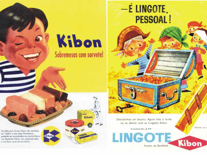 Os deliciosos sorvetes da Kibon eram vendidos em forma de 'tijolos' em latas e, nesta época, aquelas 'carrocinhas' da marca ainda existiam e você podia comprar um no ponto de venda ambulante mais próximo. Deu saudade?