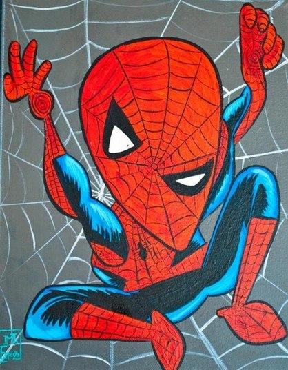 O Homem-aranha também ganhou homenagem do desenhista MikeEparza