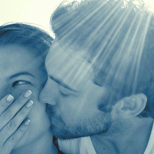 Ex-namorada de Arthur Aguiar, Lua Blanco encontrou o amor nos braços de Fernando Roncato