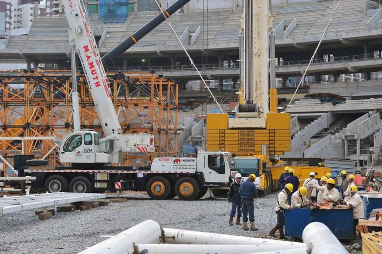 ... A previsão é que o novo estádio do Verdão seja entregue no primeiro semestre de 2014