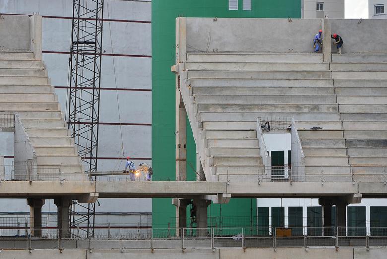 O Allianz Parque, por sua vez, terá capacidade para 45 mil torcedores