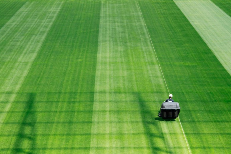O gramado da Arena Corinthians já foi demarcado e elogiado por especialistas e representantes da Fifa