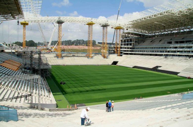 Em 26 de setembro, a reportagem do R7 esteve na Arena Corinthians, palco da abertura da Copa do Mundo de 2014, e fotografou todos os cantos do estádio do Timão, que já conta com aproximadamente 90% das obras concluídas