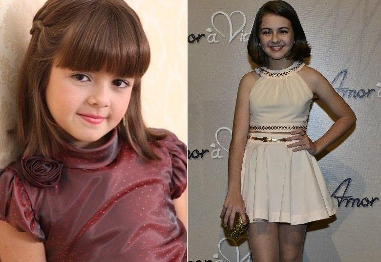 Klara Castanho completou 13 anos neste domingo (6), comemorando o sucesso de sua personagem na novela Amor À Vida, da Globo. A atriz cresceu na TV e já parece uma verdadeira mocinha. Veja fotos de como ela mudou com o tempo!