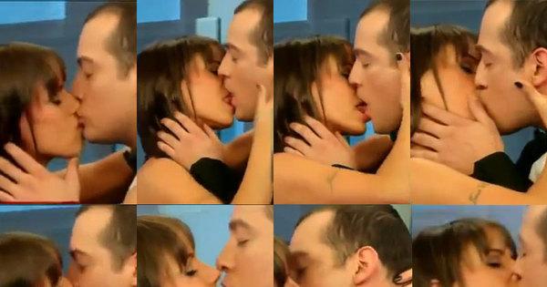 """Panicat Carol Dias fala sobre beijaço em Sterblitch: """"Adoro o Edu ..."""