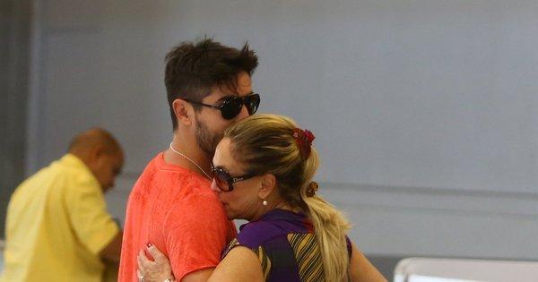 Susana Vieira fala sobre fim de seu namoro com Sandro Pedroso ...