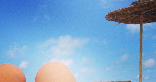 Em meio à polêmica com Cauã, Isis Valverde posta foto em praia ...