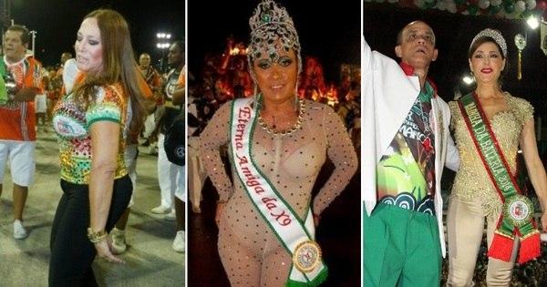 Mico no Carnaval! Veja quais famosas preferem se cobrir durante a ...