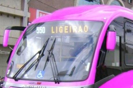 Vereador sugeriu que coletivos tenham a cor rosa (Foto: Divulgação)