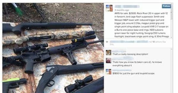 Instagram é usado para comércio ilegal de armas, diz jornal ...