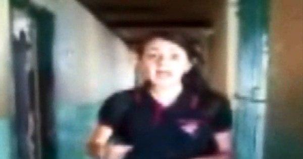 Estudante grava vídeo para denunciar destruição de escola na ...