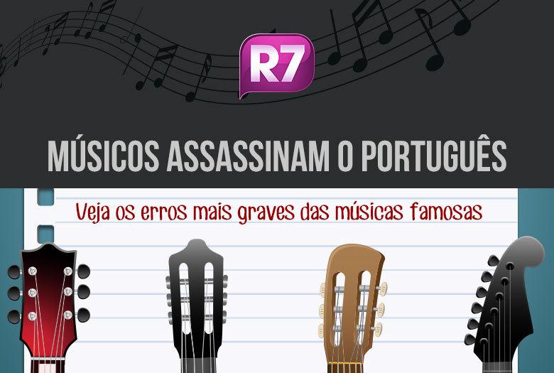 Aquela regrinha básica do português de concordar sujeito com o verbo não é tarefa fácil para os compositores brasileiros. Embora eles tenham o dom de fazer músicas que emocionam milhões de pessoas, muitas vezes acabam sacrificando a nossa língua. Veja alguns dos erros mais pesados nas canções famosas