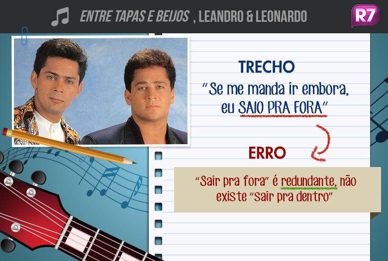 Entre Tapas e Beijos, Leandro & Leonardo: do álbum Leandro & Leonardo Vol.3, de 1989, escrita por Nilton Lamas e Antônio Bueno