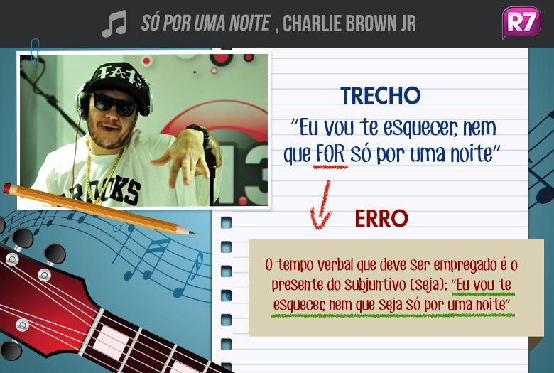 Só Por uma Noite,Charlie Brown Jr:é o segundo single do álbumBocas Ordinárias