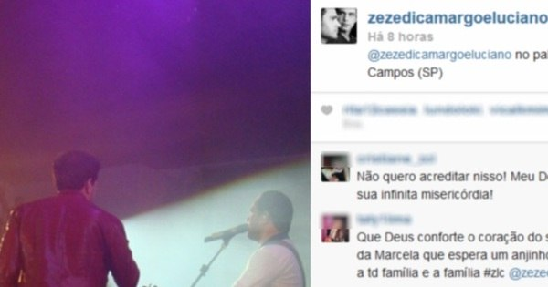 Zezé Di Camargo e Luciano fazem show em luto após a morte de ...