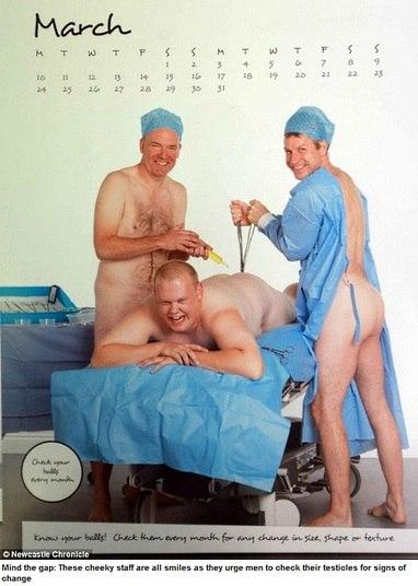 Homens Pelados Alerta Para A Preven O Do C Ncer De Test Culo