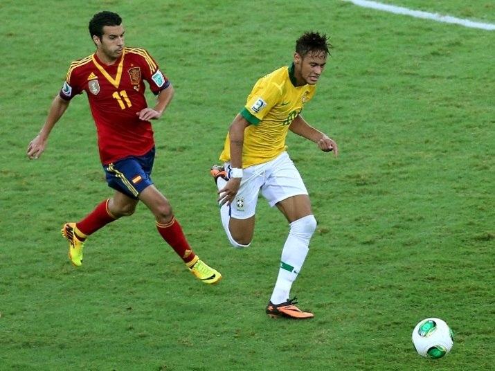 A meteórica adaptação de Neymar ao Barcelona vem surpreendendo os torcedores catalães e tem deixado um dos talismãs do clube bastante preocupado. Titular da seleção espanhola nos últimos anos, Pedro Rodriguez tem esquentado o banco para o brasileiro e admitiu que corre riscos de perder sua vaga também na Copa do Mundo