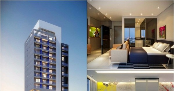 Menor apartamento do Brasil será construído em São Paulo - Fotos ...