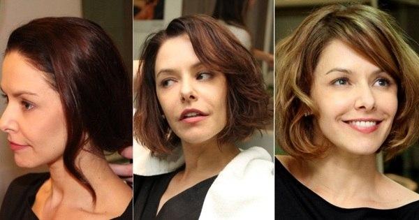 Bianca Rinaldi passa a tesoura e fica loira para novela - Fotos - R7 ...