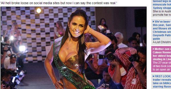 Após polêmicas, final do Miss Bumbum ganha destaque na ...