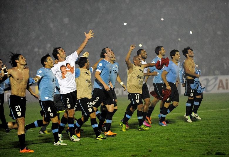 O Uruguai ocupa a quinta posição na listra da Fifa