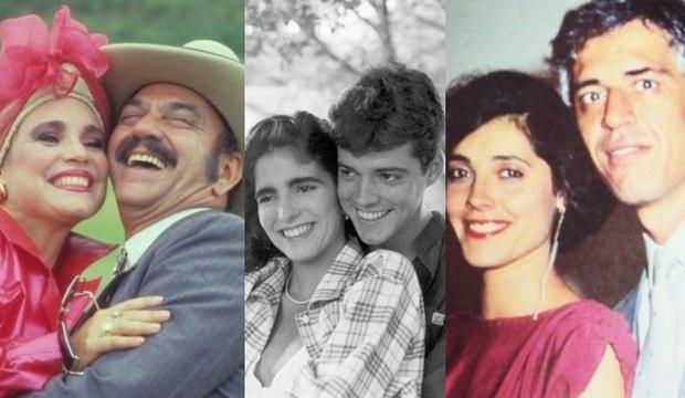 Veja por onde andam os casais mais amados da televisão brasileira durante a década de 1980