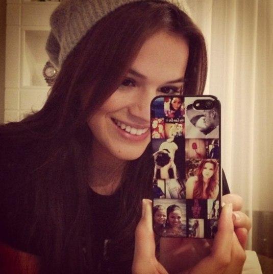 Bruna é uma grande fã das redes sociais e sempre que pode gosta de registrar os seus momentos