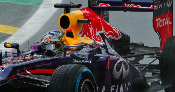 Sebastian Vettel supera a chuva e faz a pole para o GP do Brasil ...