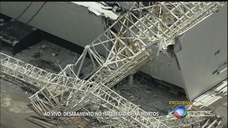 Por meio de nota oficial, o Corinthians lamentou o acidente no futuro estádio do clube. Diretor de negócios jurídicos do clube, Alberto Bussab afirmou que ainda não sabe se o Corinthians responderá pelo ocorrido. Leia mais